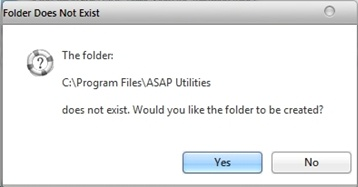 Folder Exists Check