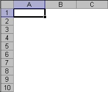 grid lines in excel 2003