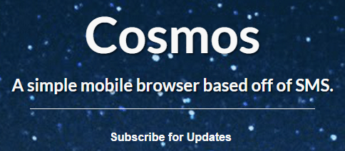 Cosmos - without internet connection