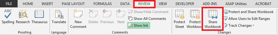 Excel Insert button greyed out_asKeygeek