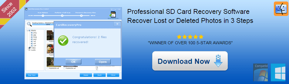 how to recover deleted files-CardRecoveryPro