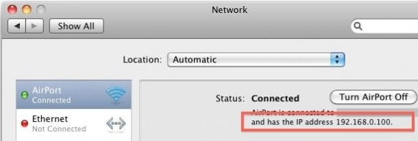 IP Address and MAC Address in Mac_asKeygeek