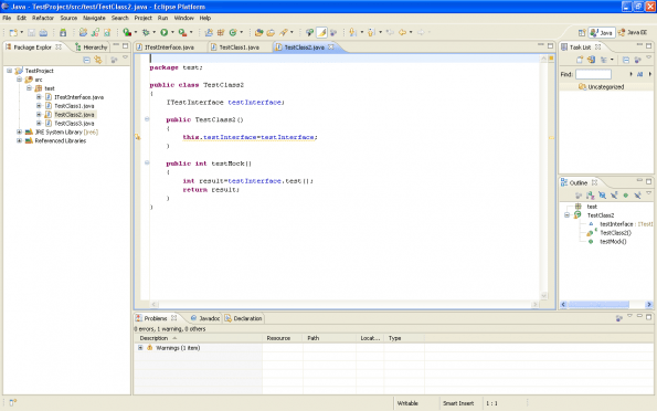 jmock tutorial pdf