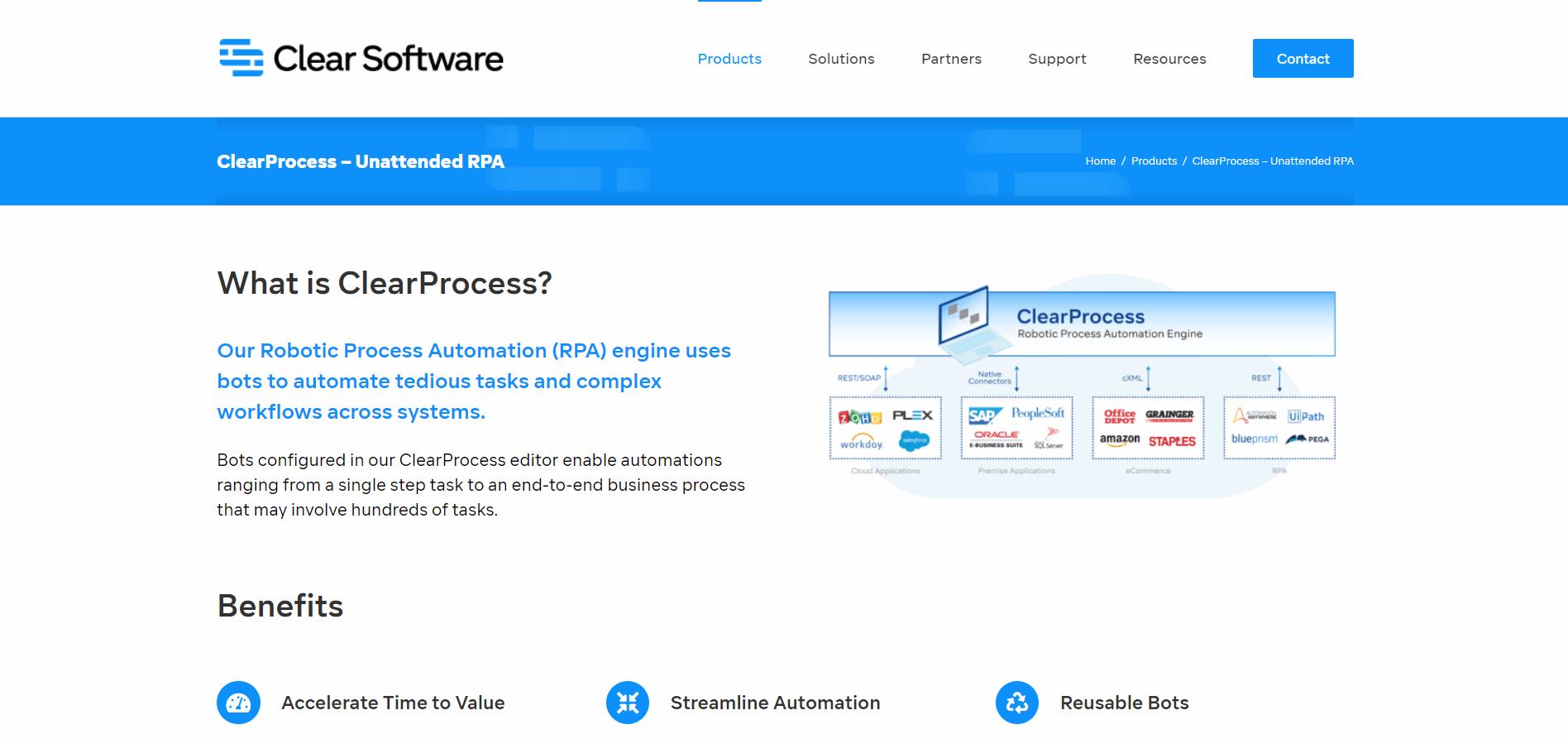 ClearProcess RPA