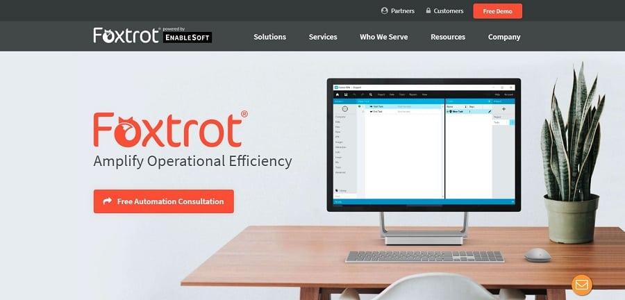 EnableSoft Foxtrot RPA