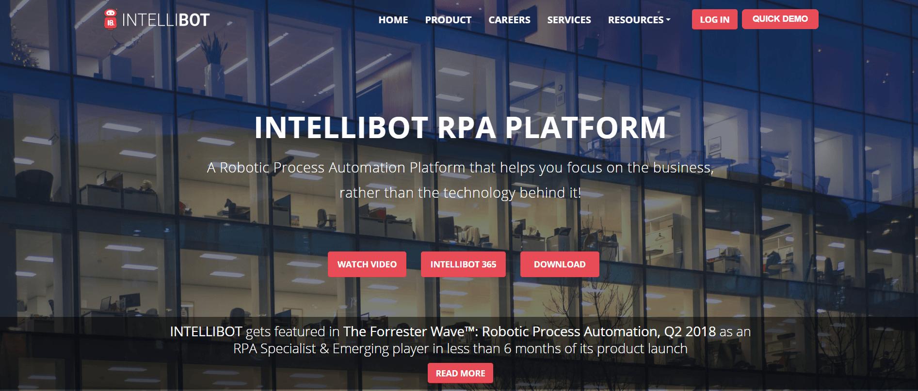 IntelliBot RPA Tool