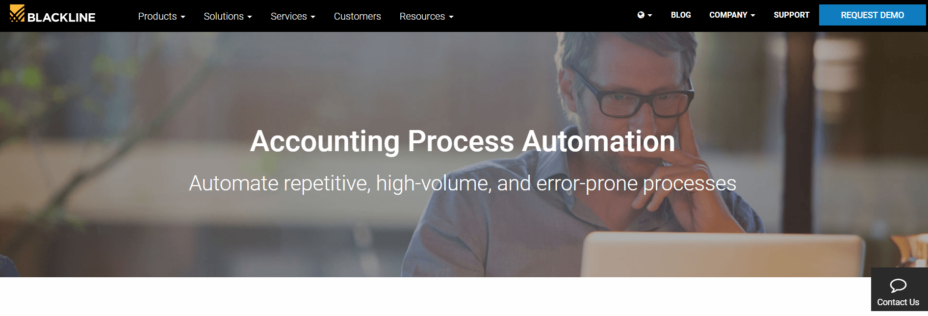blackline accounting processes automation