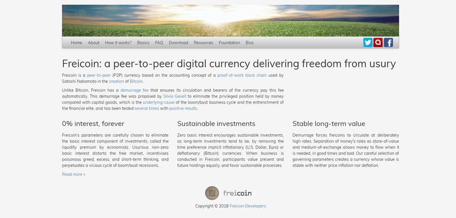 Freicoin Blockchain