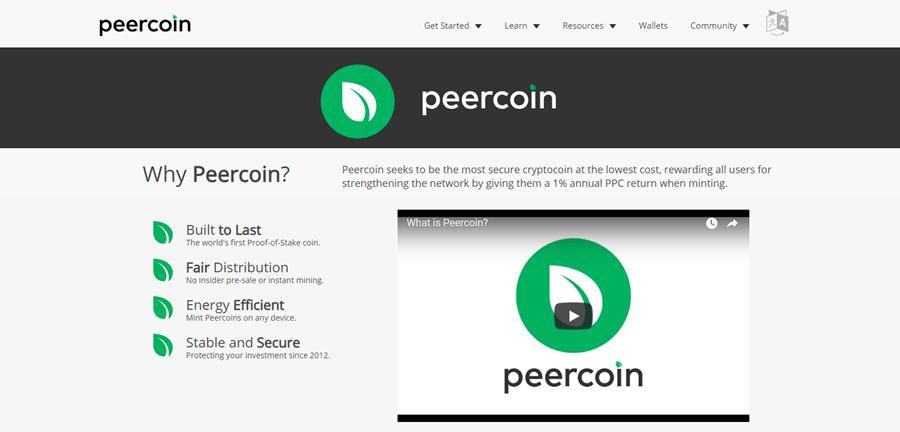 Peercoin Blockchain