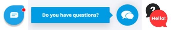 ai chatbot popup